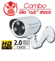(Giá Shock) Combo Camera AHD 2.0